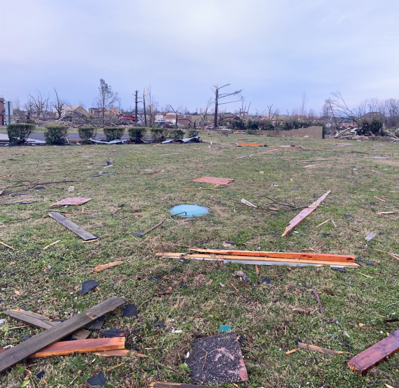 Damage in Wilson County